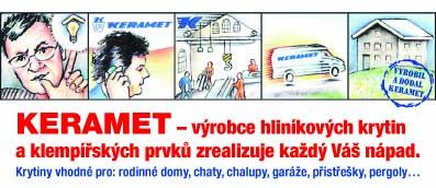 KERAMET - český výrobce hliníkových krytin