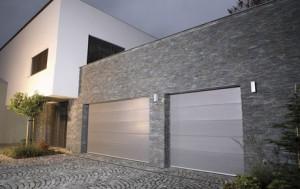 Garážová vrata design V-profil