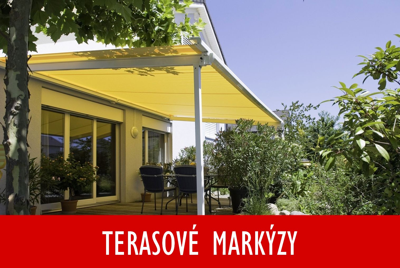 terasové markýzy