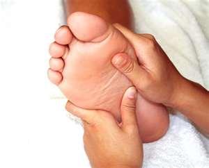 masáž nohou