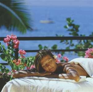 Hawajská masáž Lomi-Lomi