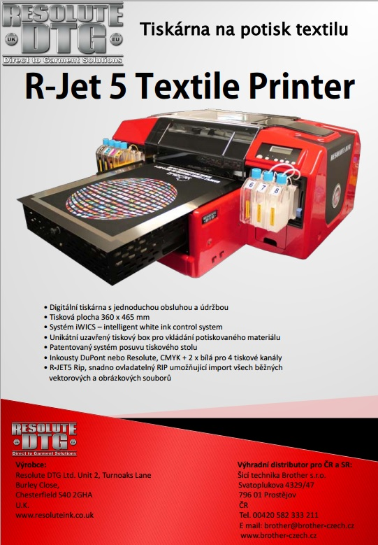 R-Jet 5 Textile Printer