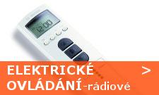 Elektrické ovládání rolet, rádiové