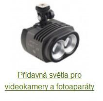 přídavná světla pro kamery
