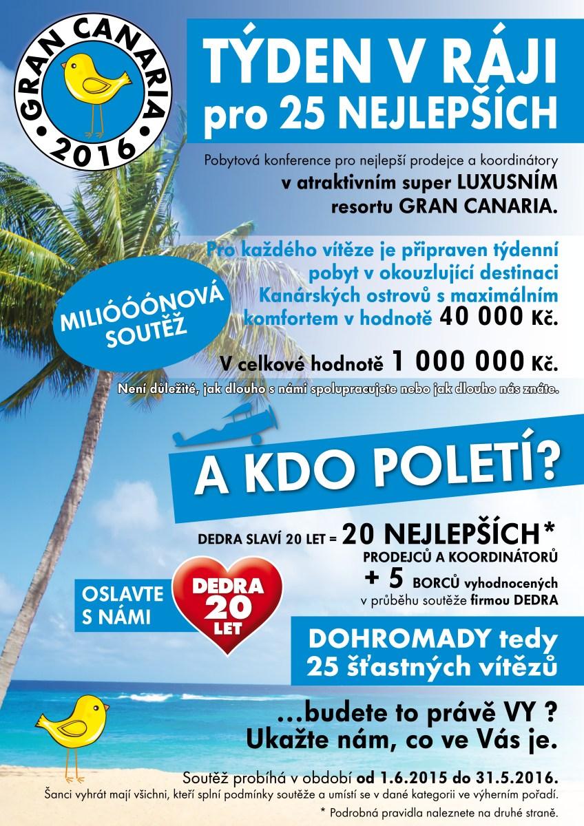 dedra.cz týden na kanárech