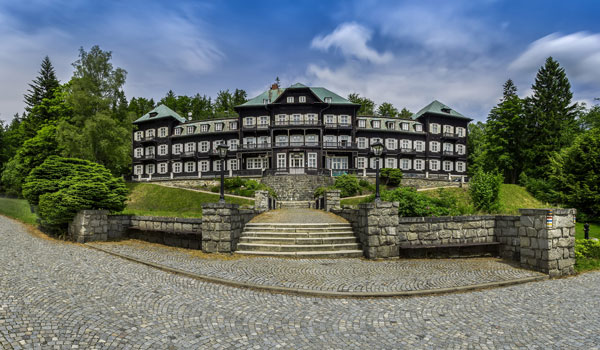 Horské lázně Karlova Studánka - Lázeňský objekt Slezský dům