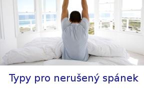 typy pro nerušený spánek
