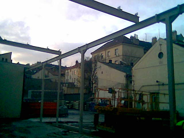 Josef Bartoš - Alpmont - ocelové konstrukce