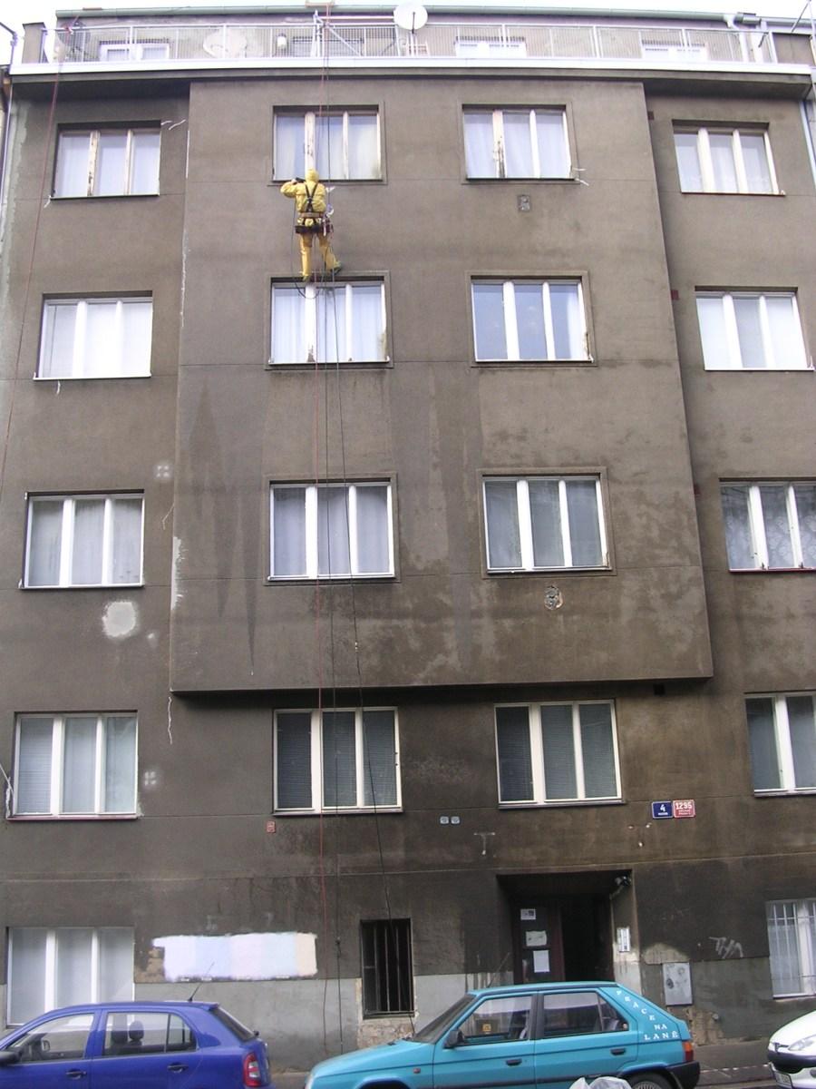 Josef Bartoš - Alpmont - výškové práce