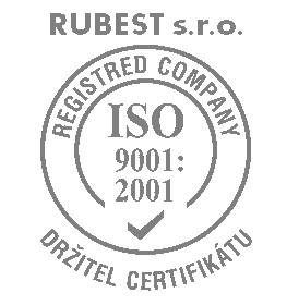 RUBEST spol. s r.o. - držitel certifikátu ISO 9001