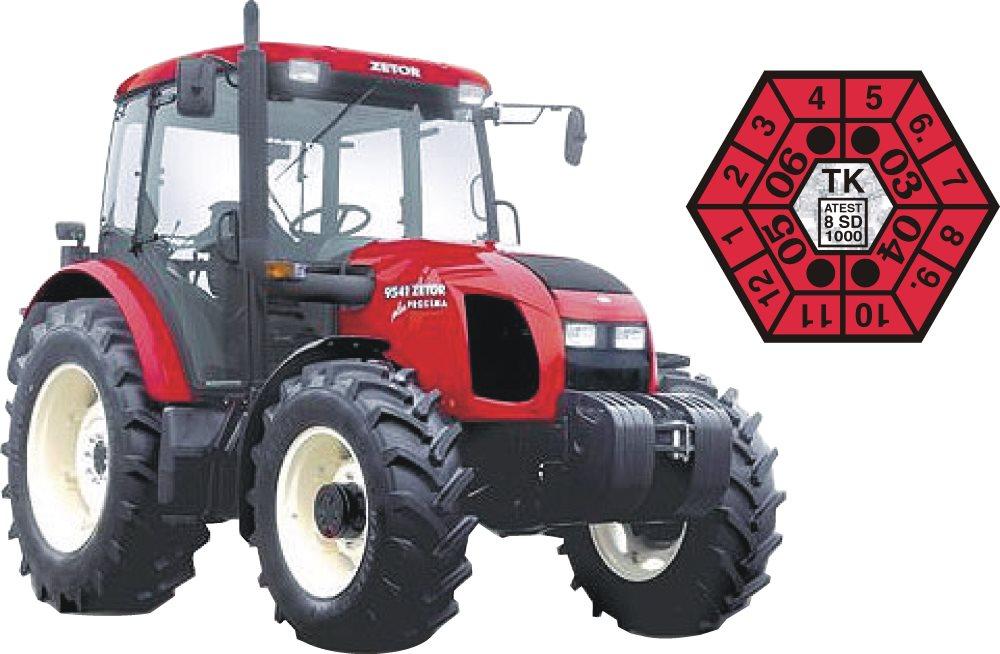 STK traktorů