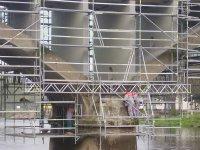 Most Zvíkovec před sanací