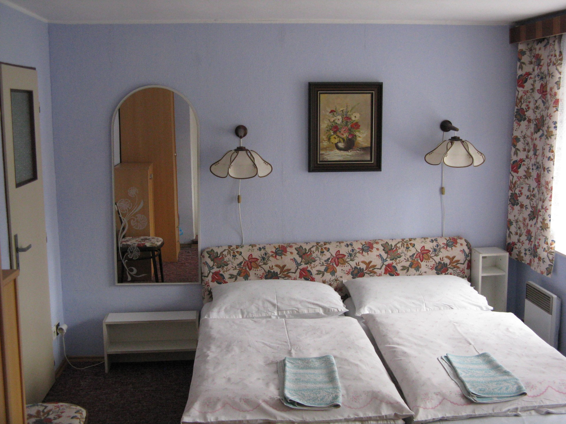 Pokoj v penzionu s lůžky 1