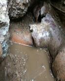 Foto kanalizace, odpadní roura