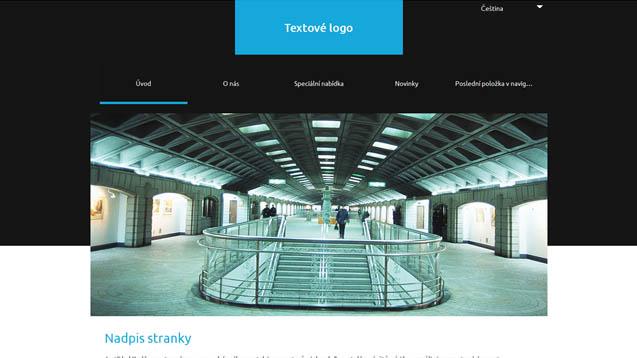 webmium šablona architektura