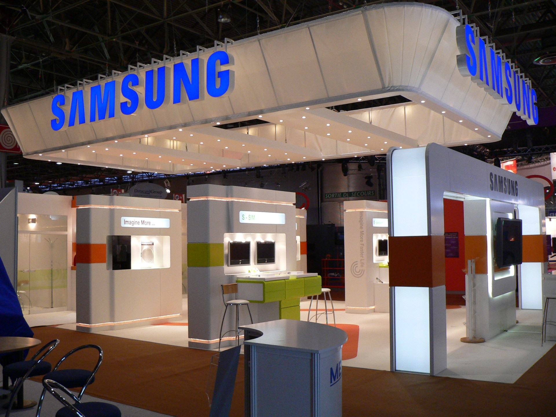 Exhibition Stand Design Decor : Furniture hire exhibition hire custom stands audio visual hire