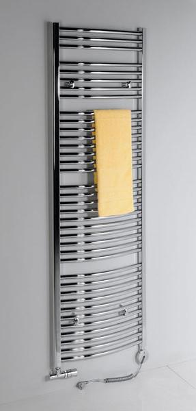koupelnové topení - oválné profily