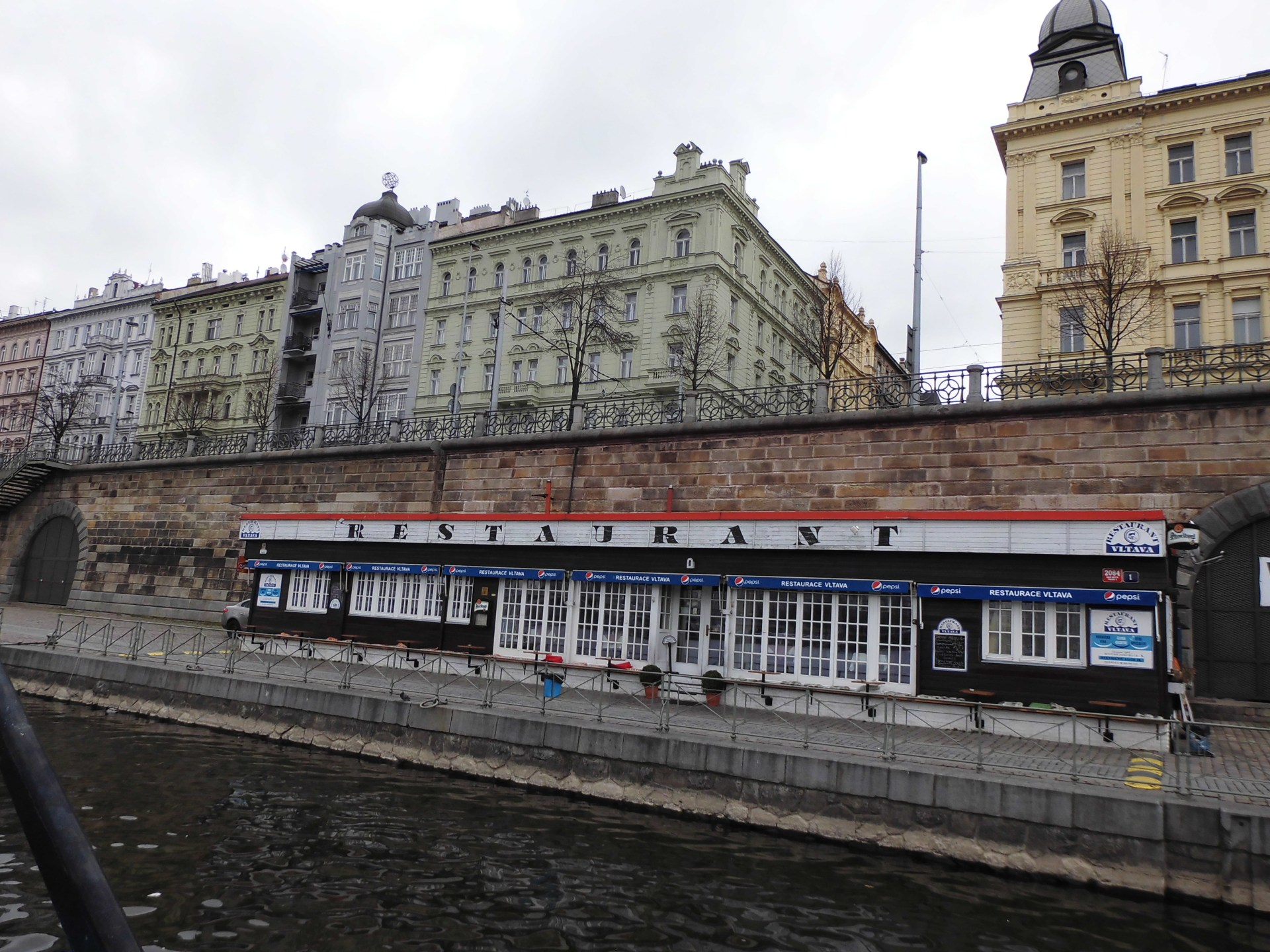 restaurace Vltava