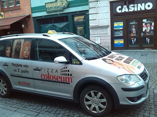 Taxi Stacho stanoviště Stodolní ul. Ostrava - centrum