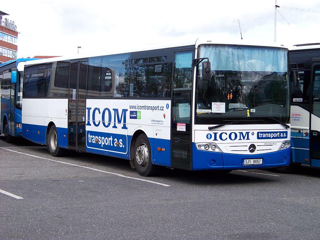 Čištění autobusů