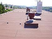 Izolace střech Třebíč