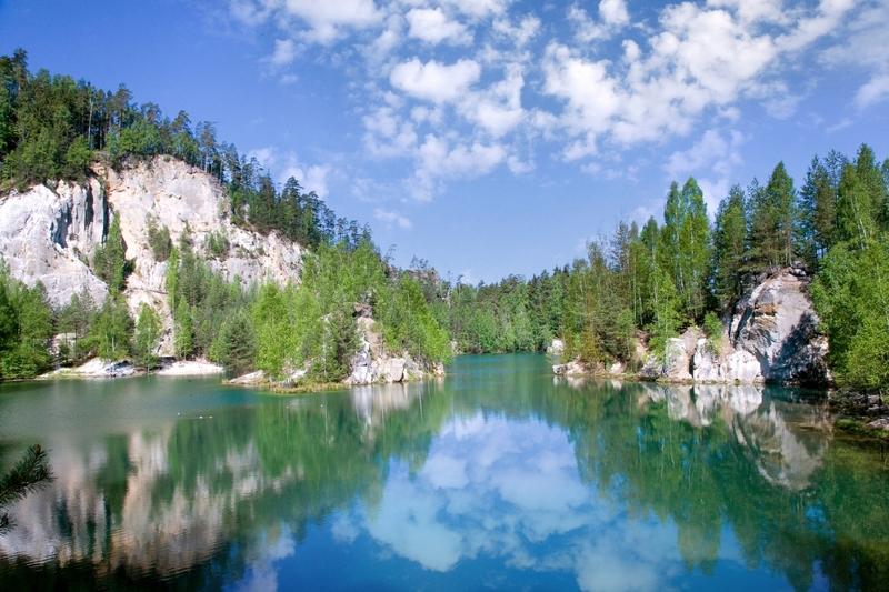Adrspach lagune