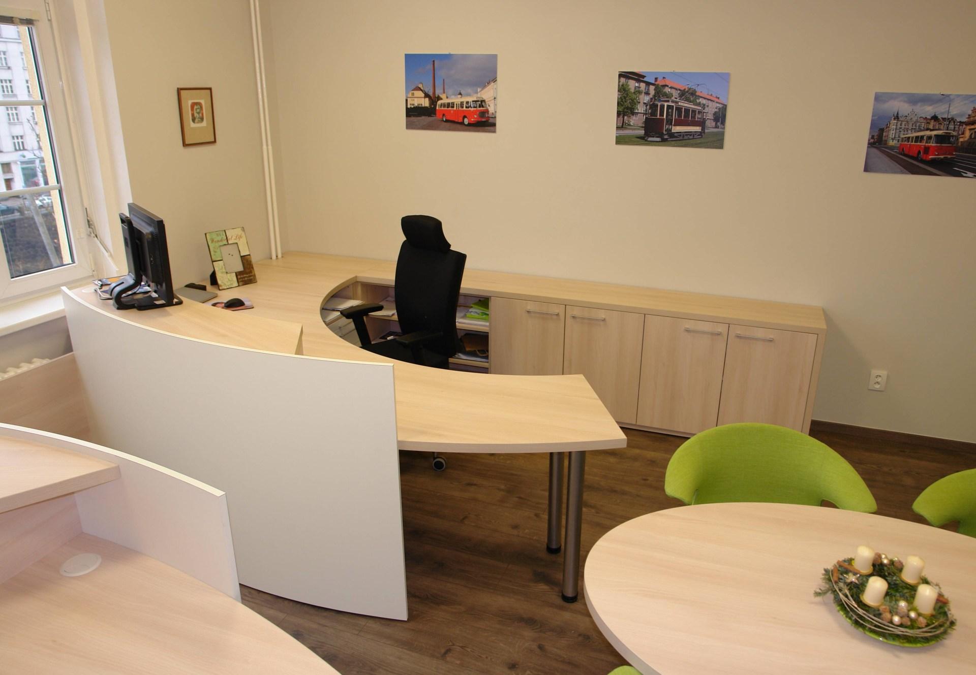 Realizace interiéru kanceláře