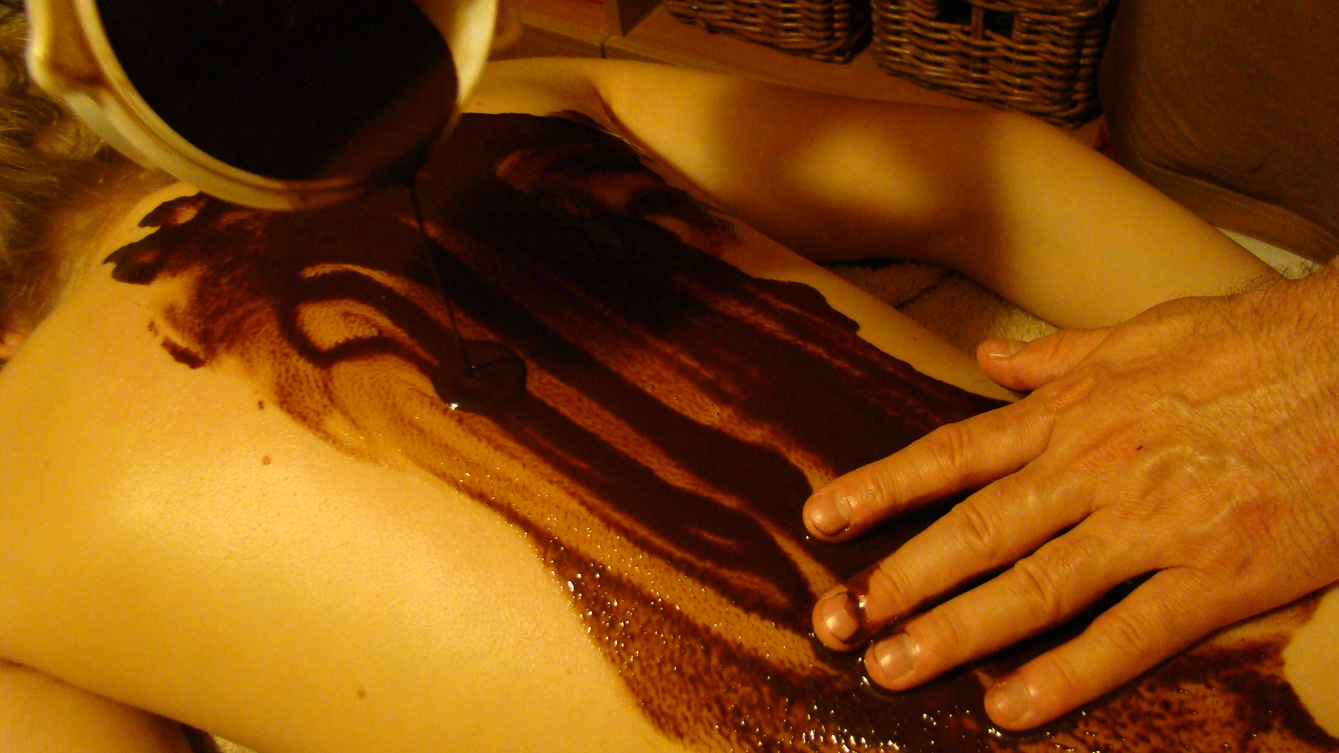 Chocolate massage