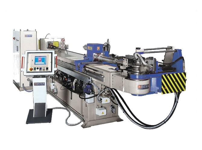 CNC ohýbačka rúrok BEMA REKORD 45 CNC D-S-DS