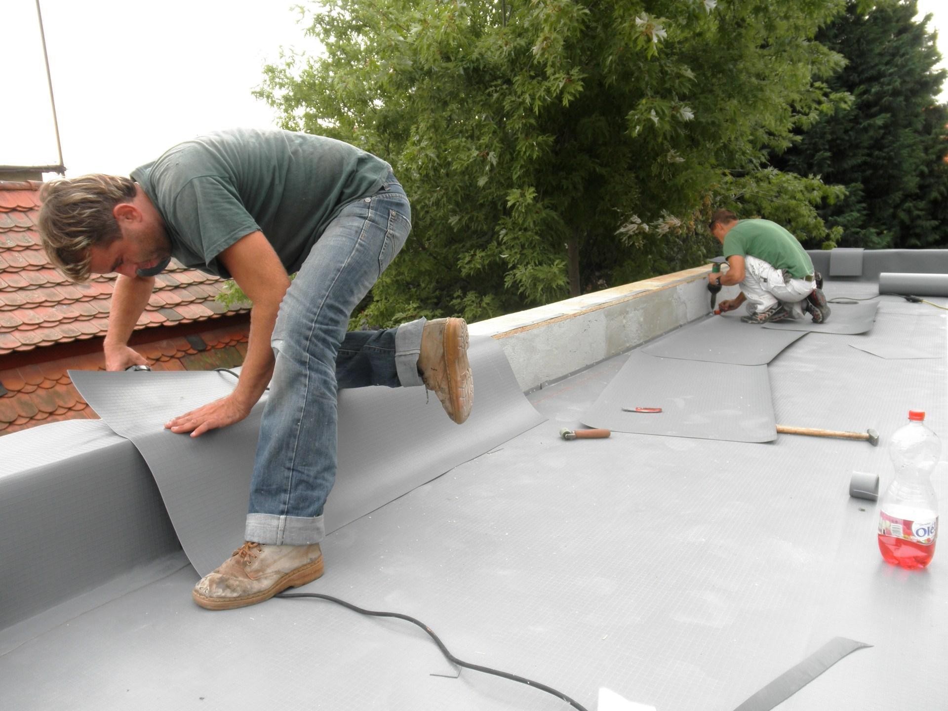 provádění izolace terasy
