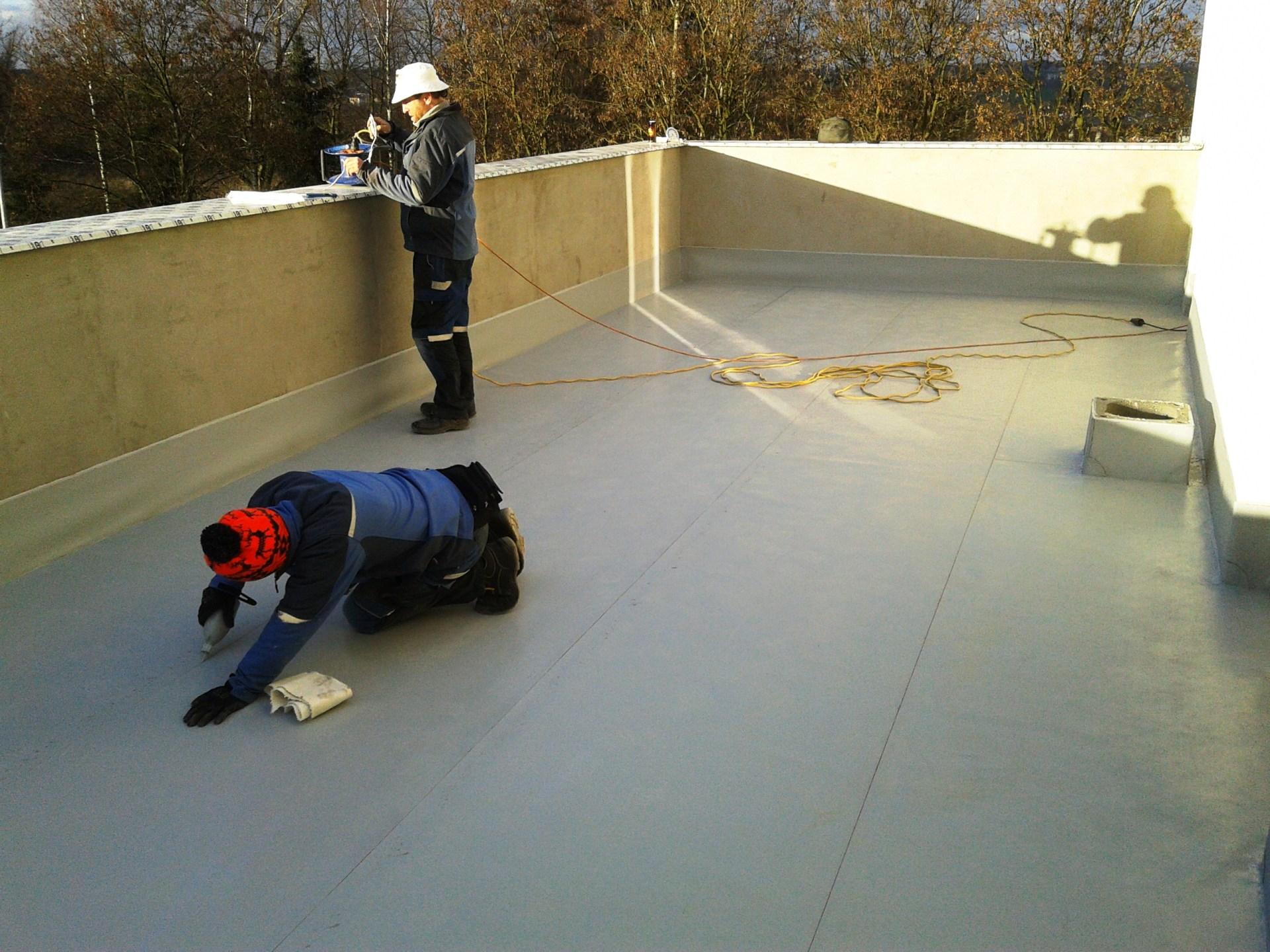 rekonstrukce povrchu terasy