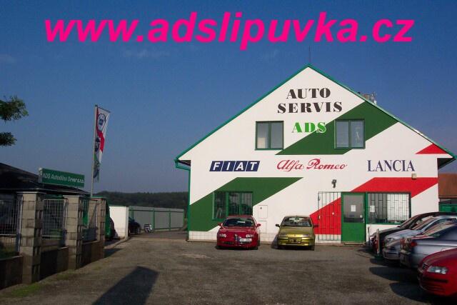 ADS autodílna sever, s.r.o. autoservis Fiat, Lanzia Alfa Romeo
