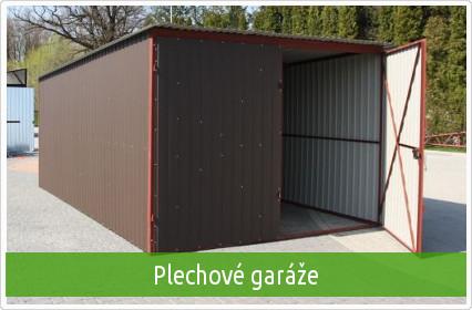 baugar - plechove garaze