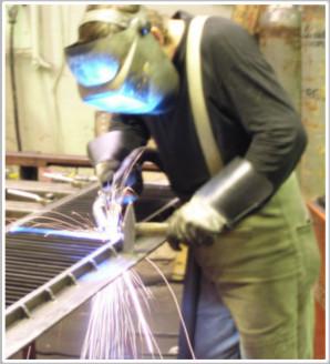 Svařování lehčích konstrukcí do 1000 kg