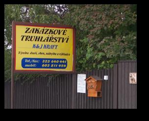 zakázkové truhlářství Praha