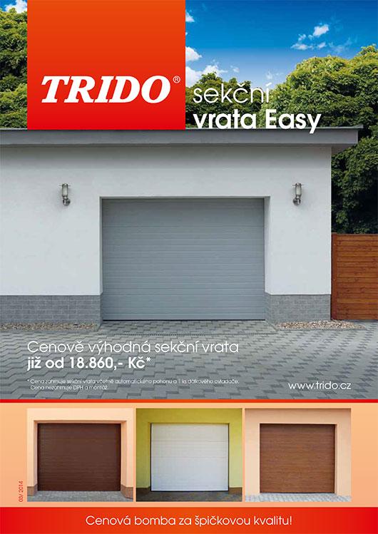 Akce Trido - garážová vrata