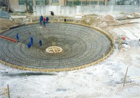D-beton - Usazovací nádrž