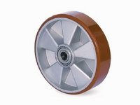 Vysokozátěžové průmyslové kolo, hliníkový disk s kuličkovými ložisky