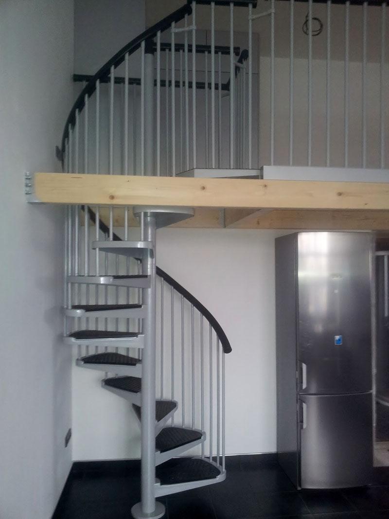 vřetenové schodiště Jap 100