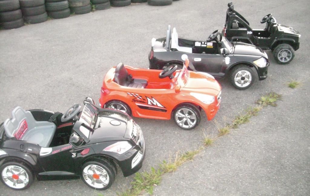 Elektrická autíčka