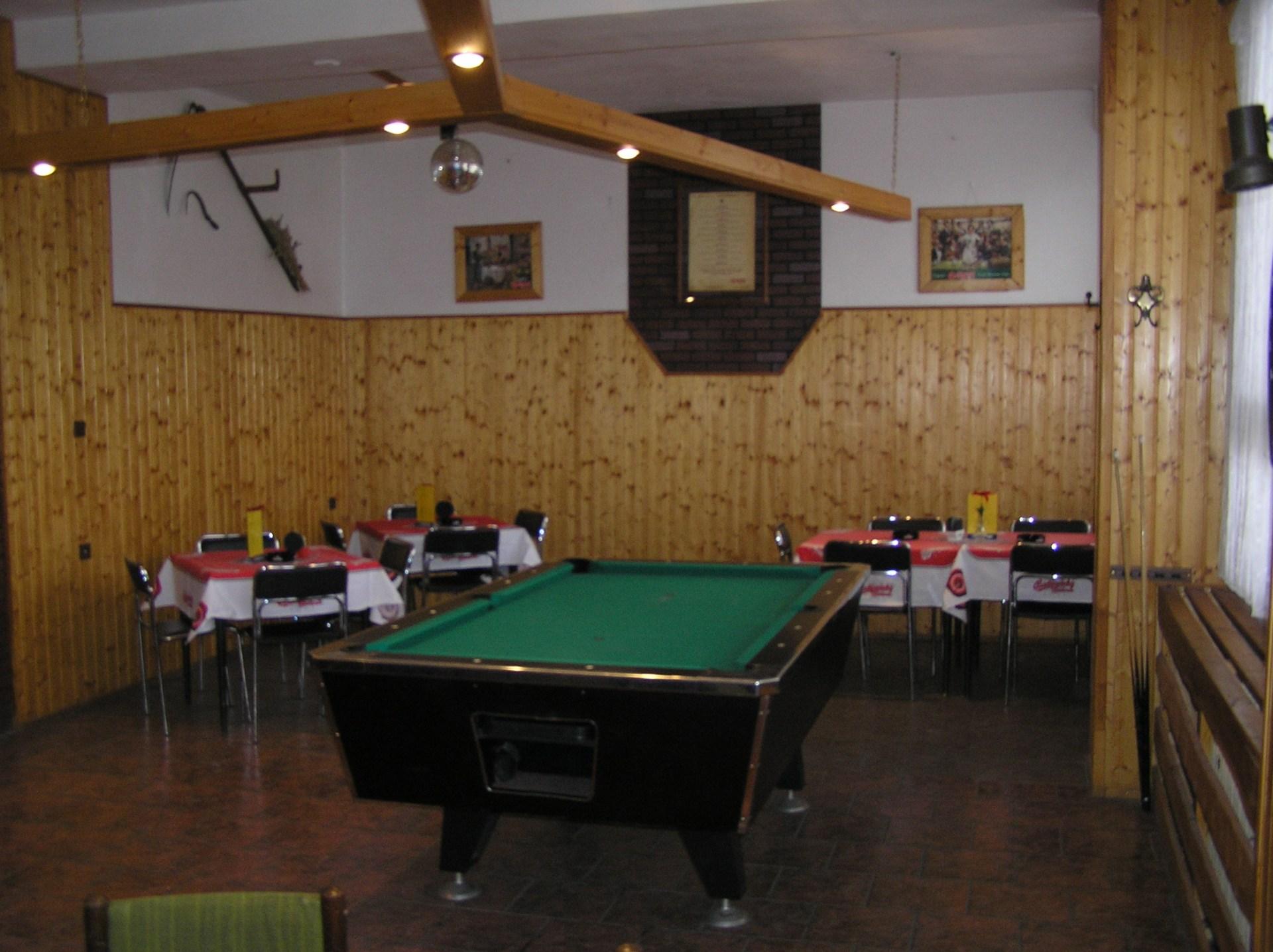 Hotel Bezucha zahradní bar