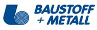 logo Baustof+Metall
