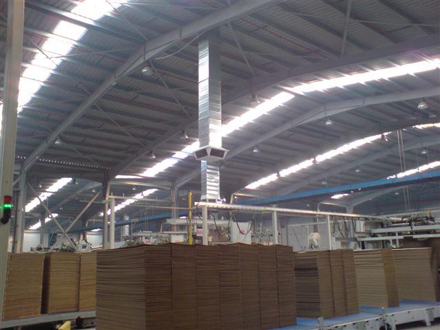 Evaporizační jednotky v tiskárenském průmyslu