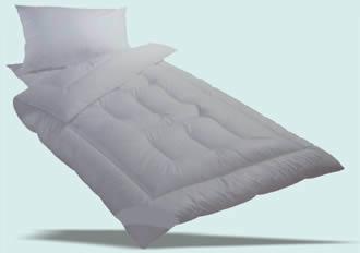 Prošívaná deka a polštář
