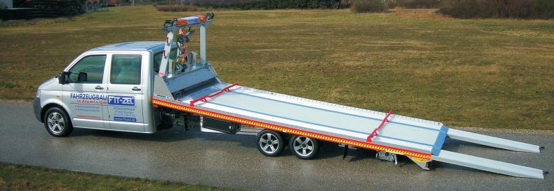 Odtahové vozidlo Speeder