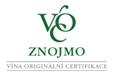 VOC Znojmo, vína originální certifikace