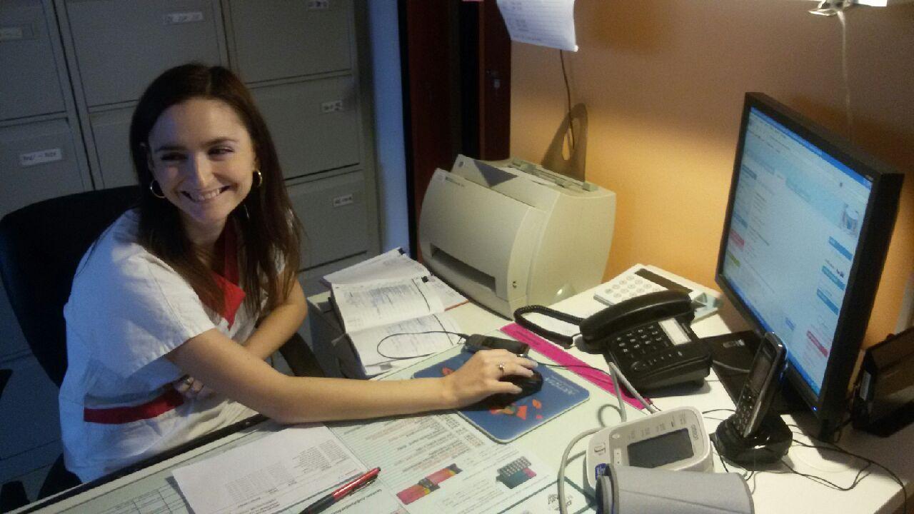 Porodni asistentka, Mgr. Veronika Frolová