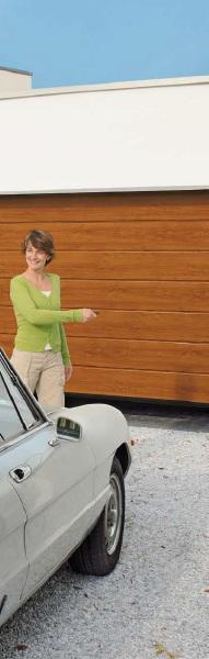 Privátní garážová vrata sekční