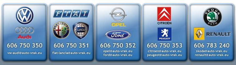 Telefonní čísla pro značky
