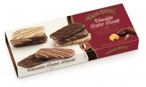 Máslové sušenky v čokoládě